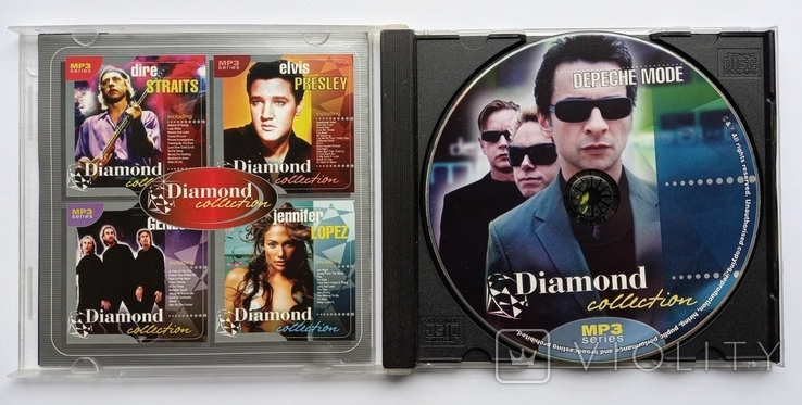 DEPECHE MODE. Daimond collection. MP3., фото №4