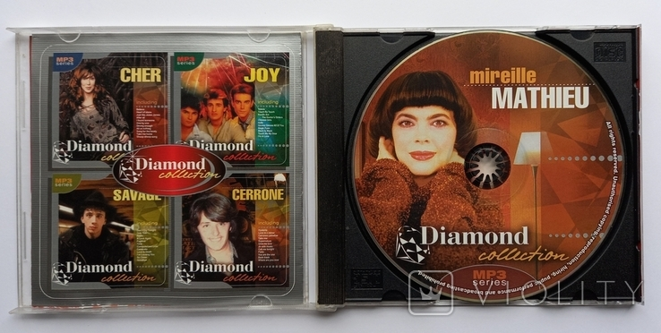 Mireille MATHIEU. Daimond collection. MP3., фото №4