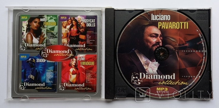 Luciano PAVAROTTI. Daimond collection. MP3., фото №4