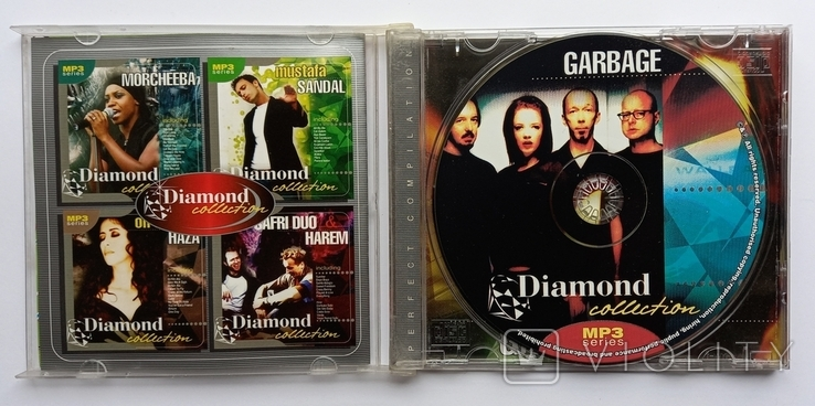 GARBAGE. Daimond collection. MP3., фото №4