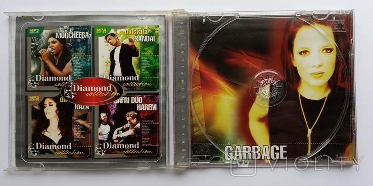 GARBAGE. Daimond collection. MP3., фото №5