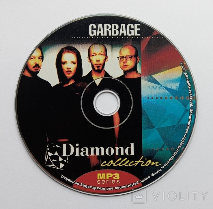 GARBAGE. Daimond collection. MP3., фото №6