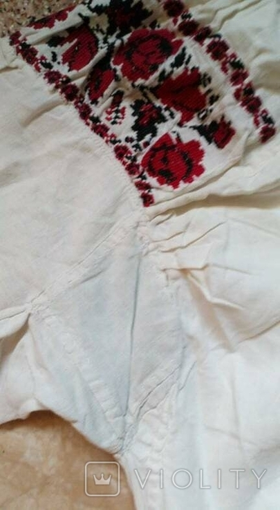 Вишиванка  Сорочка жіноча. Автентична українська.Ручної вишивки.Старовинна., фото №5