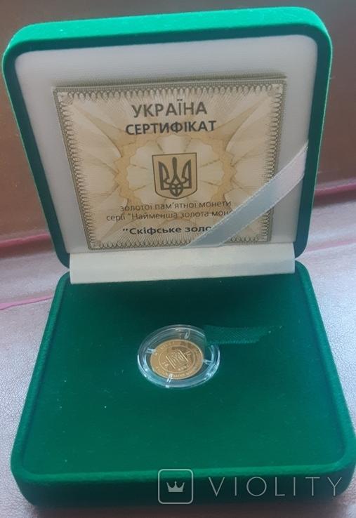 Україна  2гривні 2008 Скіфське золото - Богиня Апі