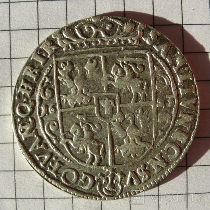 Орт коронный 1623 г. Сигизмунд III Ваза.
