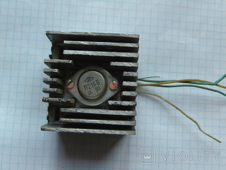 Радіатор з транзистором, фото №2