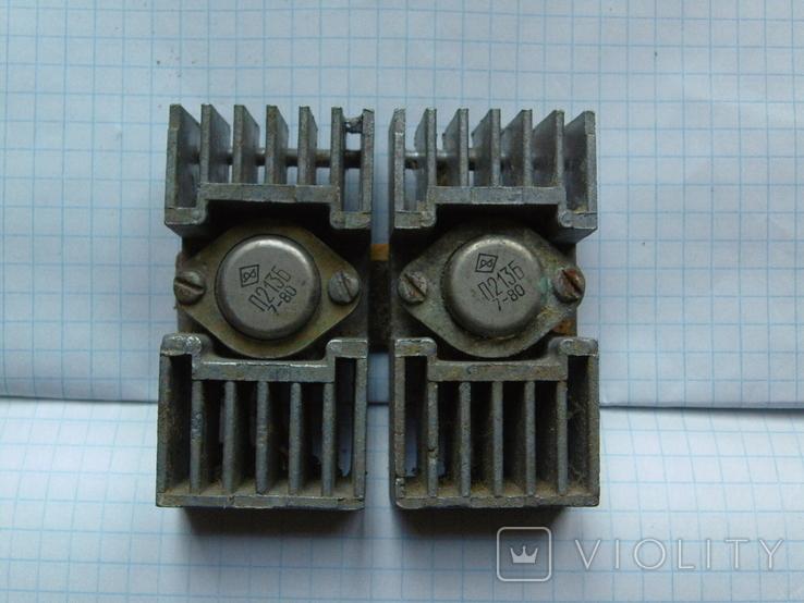 Радіатор з двома транзисторами., фото №2