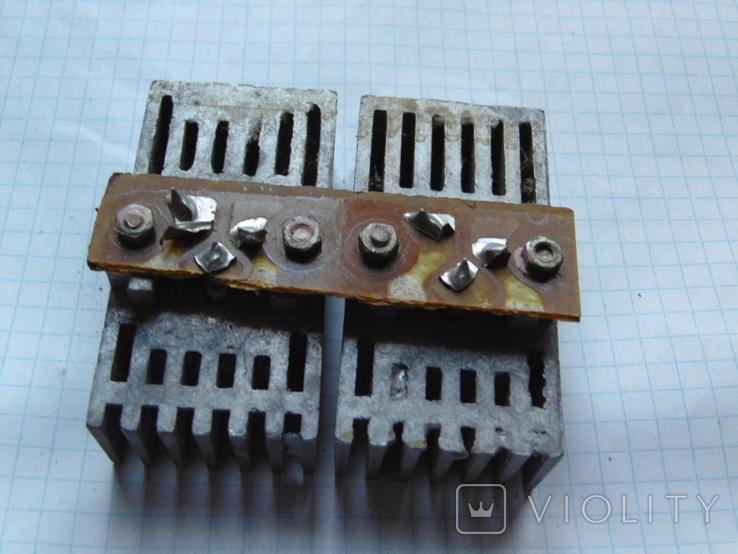 Радіатор з двома транзисторами., фото №7
