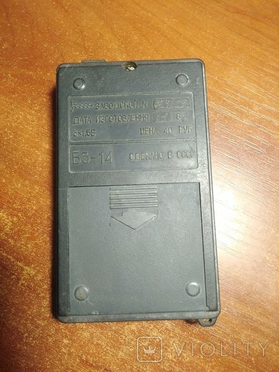 Калькулятор электроника Б3-14 1981 год., фото №3