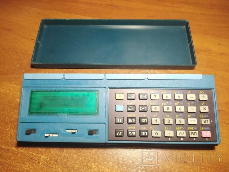 Калькулятор Электроника МК-52. 1993 год., фото №2