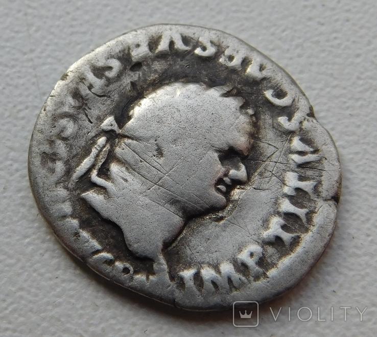 Денарий Тита, фото №3