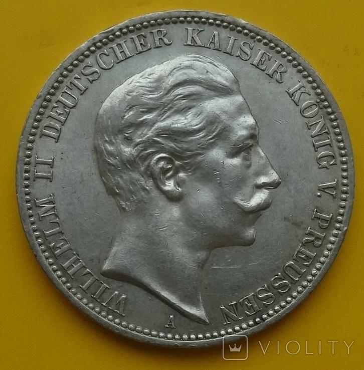 3 марки, 1911 год, Пруссия., фото №2
