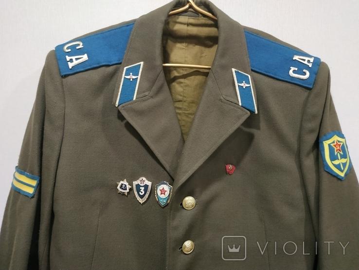 Китель рядового ВВС СССР 1972г., фото №4