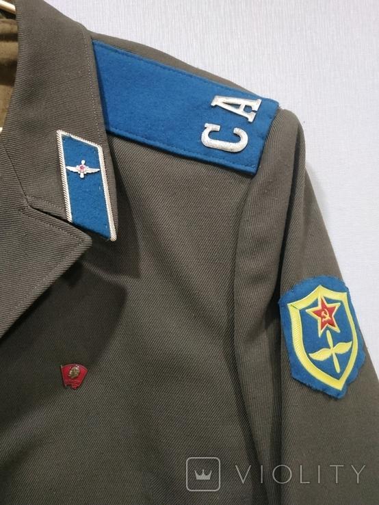 Китель рядового ВВС СССР 1972г., фото №6