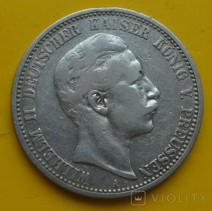 2 марки, 1903 год, Пруссия., фото №2