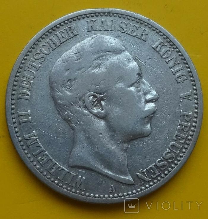 2 марки, 1903 год, Пруссия., фото №3