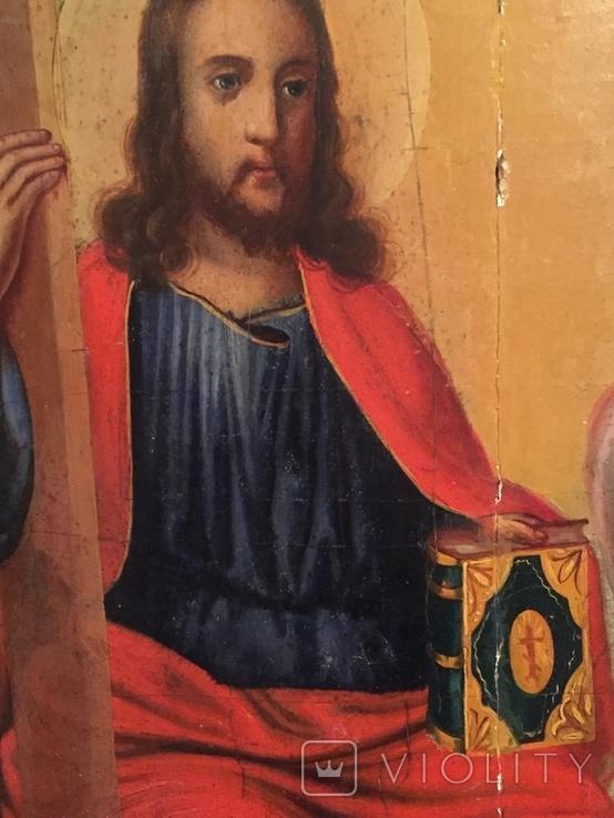 Икона Святая Троица 62*48, фото №5