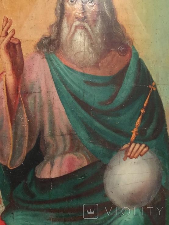 Икона Святая Троица 62*48, фото №6