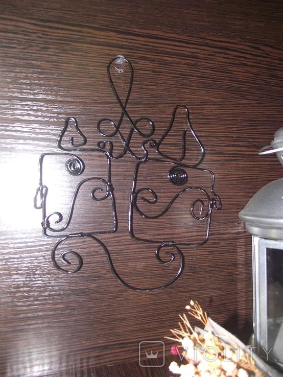 "DritArt Декор. настенная подвеска ""Свечи"", фото №2"