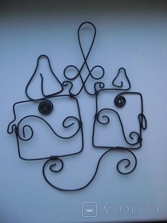 "DritArt Декор. настенная подвеска ""Свечи"", фото №3"