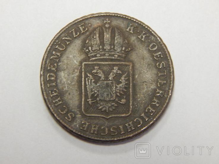 1 крейцер, 1816  A Австрия, фото №3