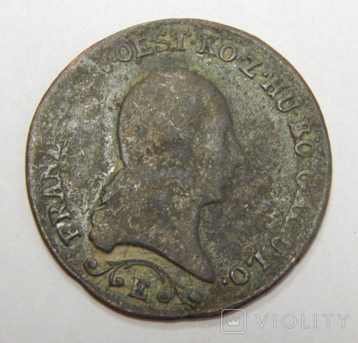 1 крейцер, 1812 Е Австрия, фото №3