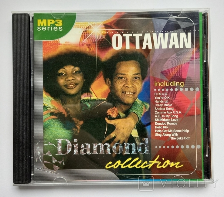 OTTAWAN. Daimond collection. MP3., фото №2