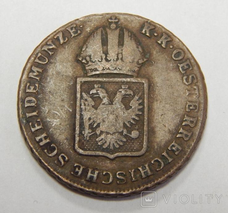1 крейцер, 1816 О Австрия, фото №3