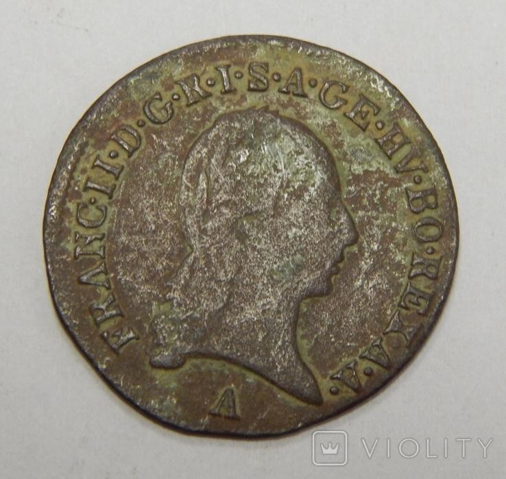 1/2 крейцера, 1800 А Австрия, фото №3