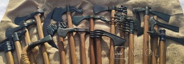 Коллекция копий бронзовых топоров, фото №8