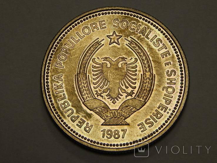 5 лек, 1987 г Албания, фото №3