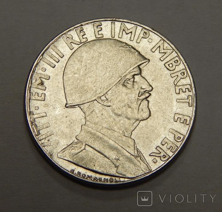 0,2 лека, 1939 г Албания, фото №3