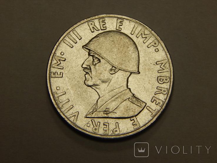 0,5 лека, 1939 г Албания, фото №3