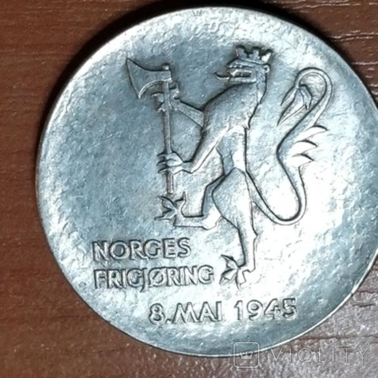 Норвегия,20 крон,1980 г., фото №3
