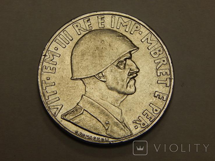 1 лек, 1939 г Албания, фото №3