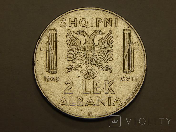 2 лека, 1939 г Албания, фото №2