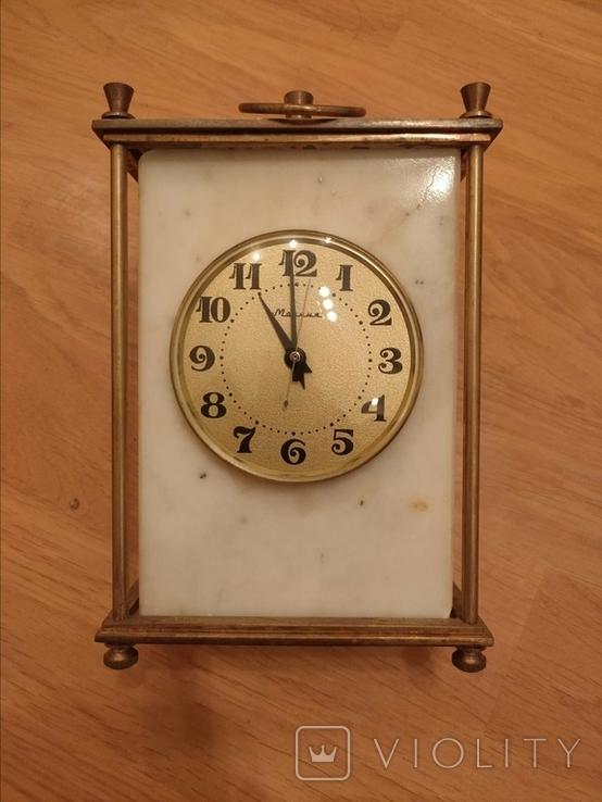 Часы мраморные СССР