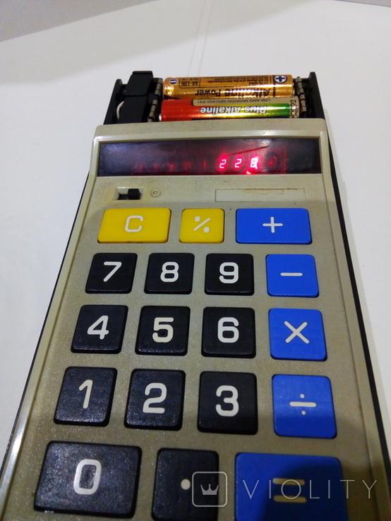 Калькуляторы Электроника Б3-23 в чехле и Sharp, фото №4