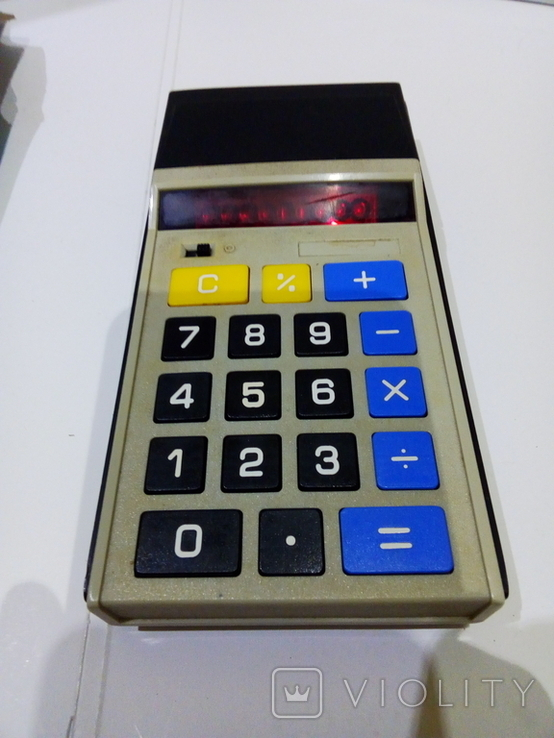 Калькуляторы Электроника Б3-23 в чехле и Sharp, фото №11