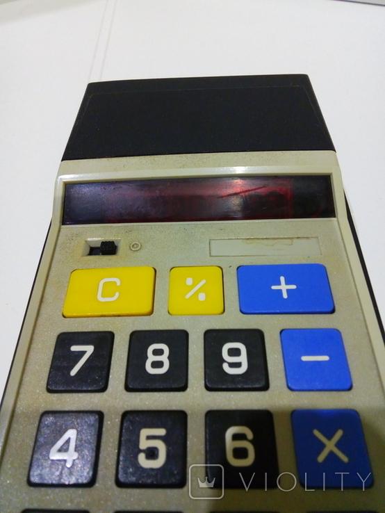 Калькуляторы Электроника Б3-23 в чехле и Sharp, фото №12