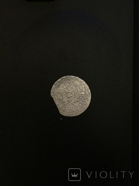 Гданьский грош 1626 года. Сиг. ІІІ Ваза, фото №2