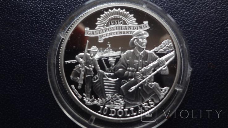 10 долларов 2015 Кирибати  серебро    (3.5.9), фото №2