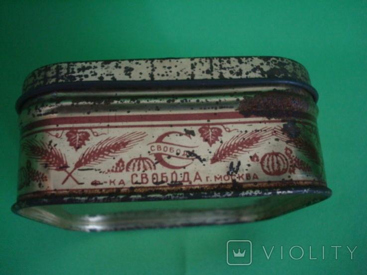 Коробка от зубного порошка ВДНХ жесть ф-ка Свобода, фото №6