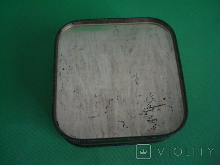 Коробка от зубного порошка ВДНХ жесть ф-ка Свобода, фото №10