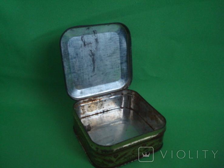 Коробка от зубного порошка ВДНХ жесть ф-ка Свобода, фото №11