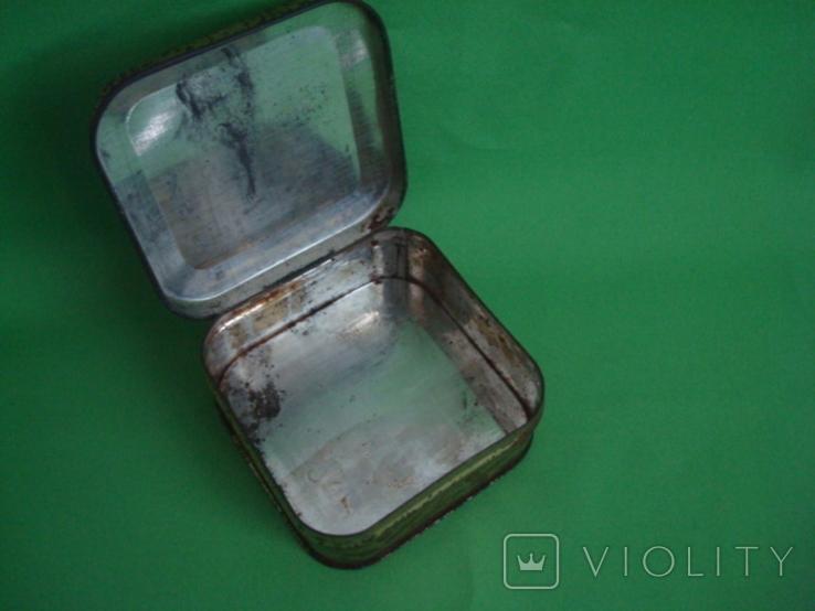 Коробка от зубного порошка ВДНХ жесть ф-ка Свобода, фото №12