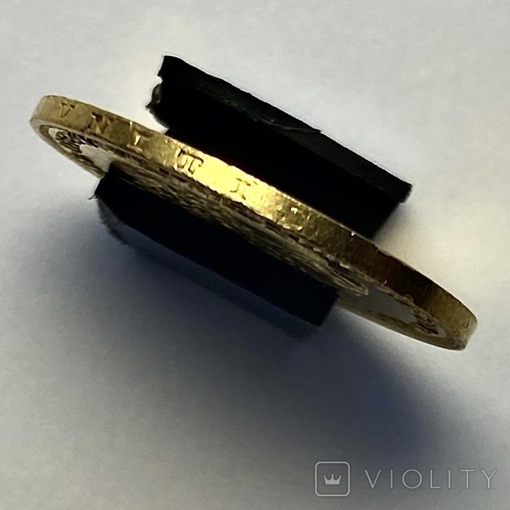 8 флоринов 20 франков. 1887. Франц Иосиф I. Австро-Венгрия (золото 900, вес 6,45 г), фото №4