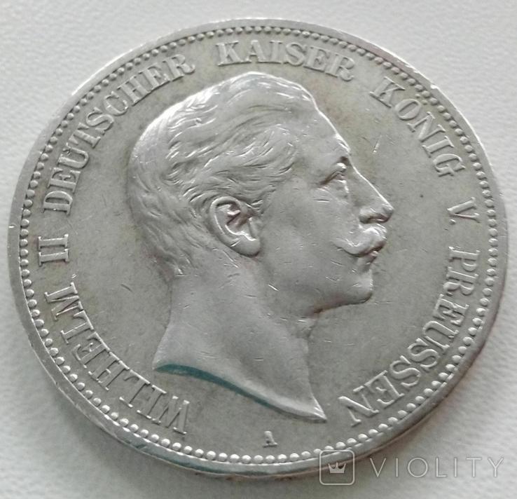 5 марок 1900 года, фото №2