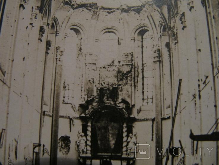 Старая открытка храм, фото №6