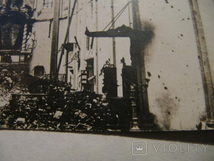 Старая открытка храм, фото №8